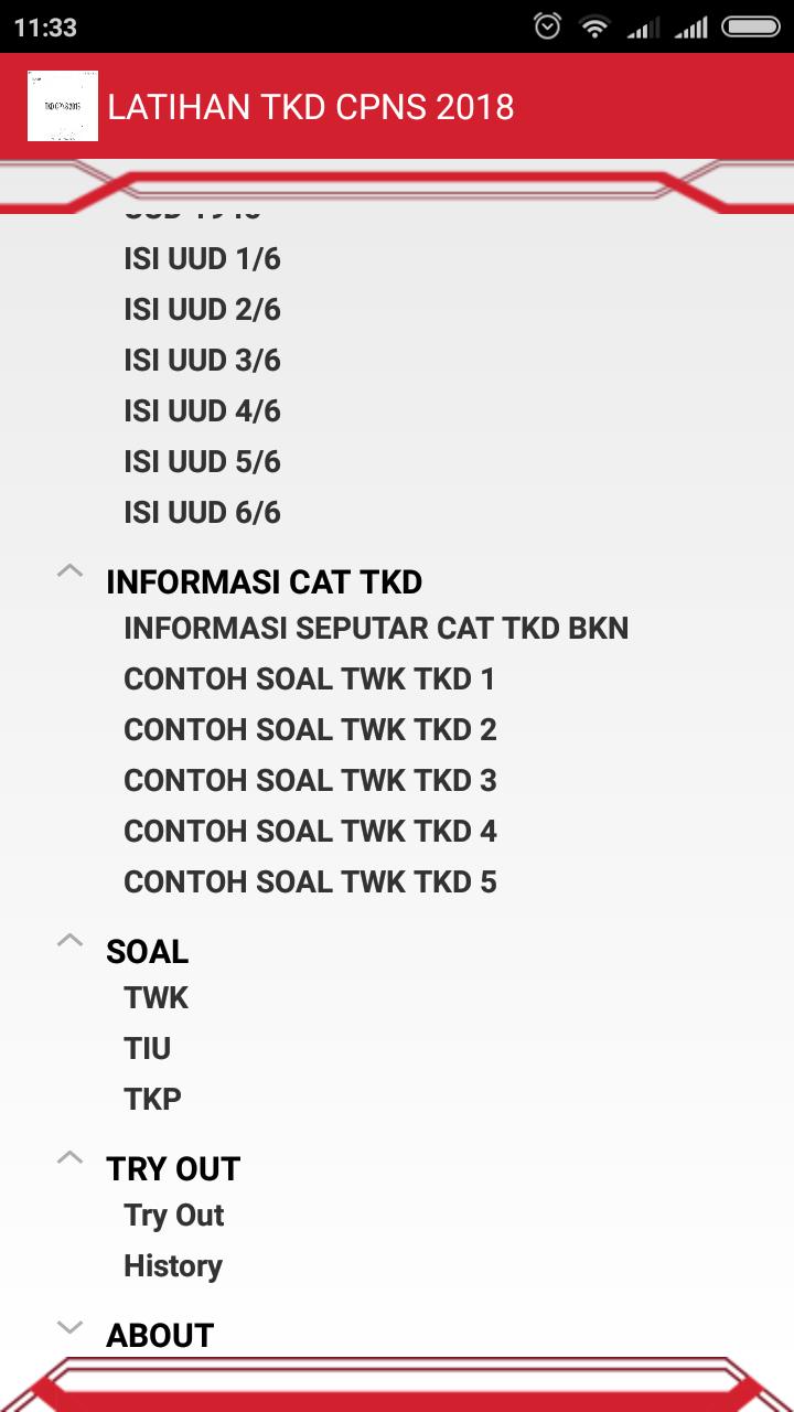 Fasilitas Ebook Premium Latihan Soal Tes Cpns Model Hots